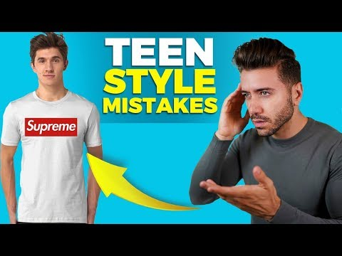 7 Style Mistakes EVERY Teenager Makes   Teen Fashion   Alex Costa