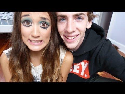 Boyfriend Does My Makeup Tag!