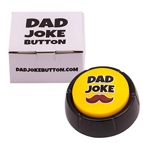 Dad Joke Button – A Gift for Fathers with 50+ Funny Dad Jokes