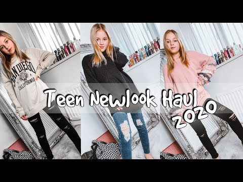 Teen New Look Haul 2020! First haul of the Year / Decade 😂