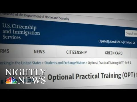 Fake Companies Exploiting Federal Student Visa Program | NBC Nightly News