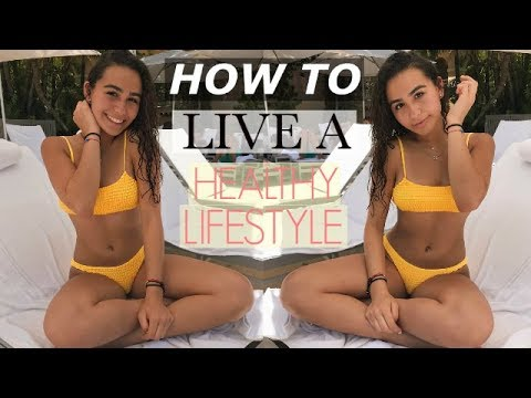 TEENAGE HEALTHY LIFESTYLE ROUTINE: 6am workout, school, and what I eat!