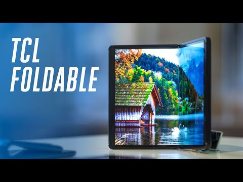 This TCL foldable phone is a sneak peek of 2020