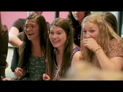 Lady Gaga + Students on teen Mental Health First Aid!