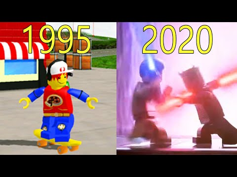 Evolution of Lego Games 1995-2020