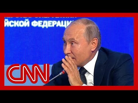 Watch Vladimir Putin troll US on live TV