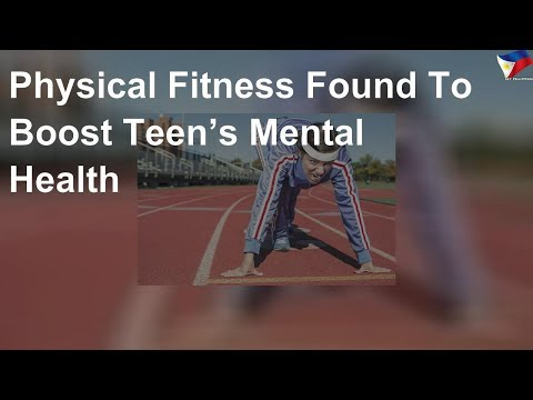 Physical fitness found to boost teen's mental health