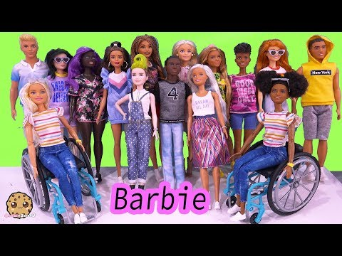 NEW 2020 Barbie + Ken Fashionistas Fashion Doll Haul Video – Cookie Swirl C