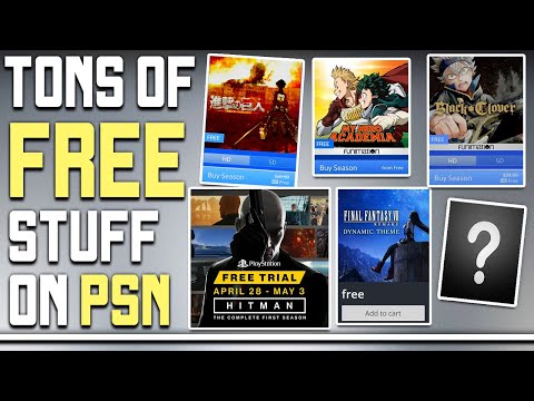 Get a Ton of Free Stuff on PSN Right Now – Free Anime, PS4 Exclusive Demo + More