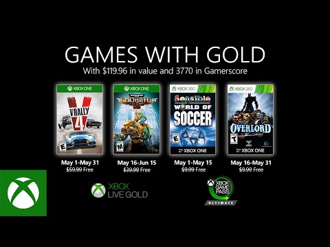 Xbox – May 2020 Games with Gold