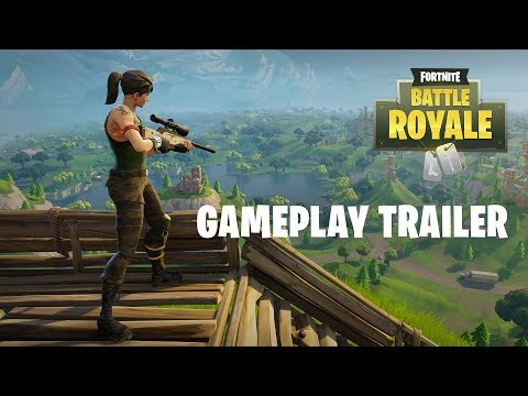 Fortnite Battle Royale – Gameplay Trailer (Play Free Now!)