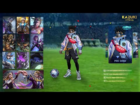 All Upcoming Skins 2020 | Bruno PSG Striker | Badang Lucky Box | Mobile Legends Bang Bang |-