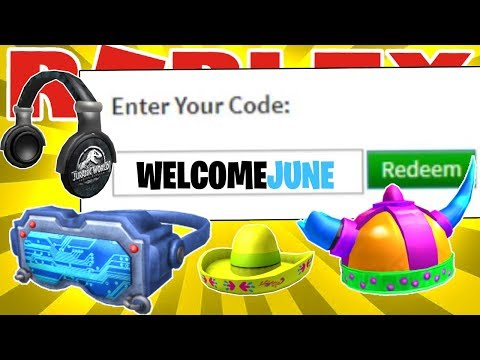 LIST OF WORKING PROMO CODES AND FREE ITEMS ON ROBLOX IN 2020! (JUNE 2020)