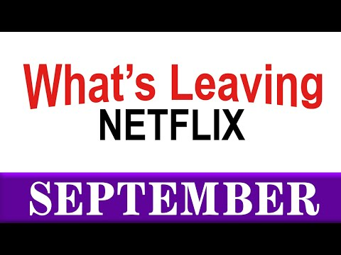 What's Leaving Netflix: September 2020
