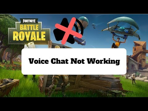 How To Fix Fortnite Voice Chat (Can't Hear Teammates) (WORKING NOVEMBER 2020)