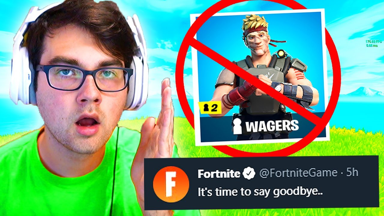 Fortnite actually just BANNED this forever… (RIP)