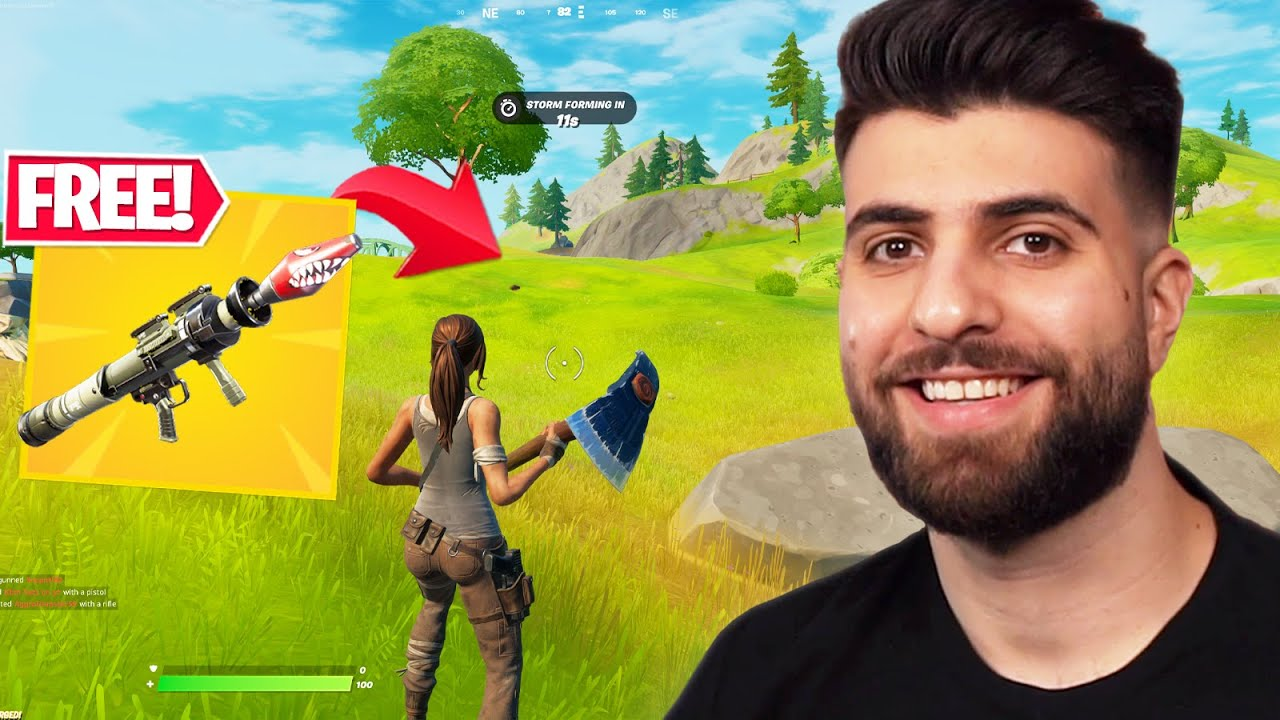 How To Start EVERY Game With A GOLD RPG! – Fortnite Season 6