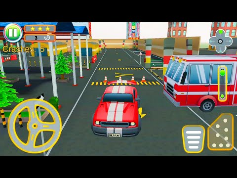 McQueen City Car Parking & Driving Simulator 2021 – Android Gameplay FHD