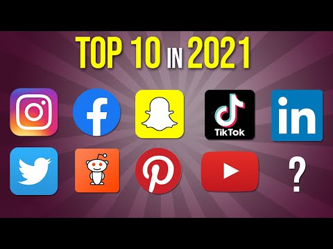 Top 10 Social Media Apps in 2021 Explained in One Video